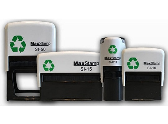 mAXSTAMP sELF INKING STAMPS