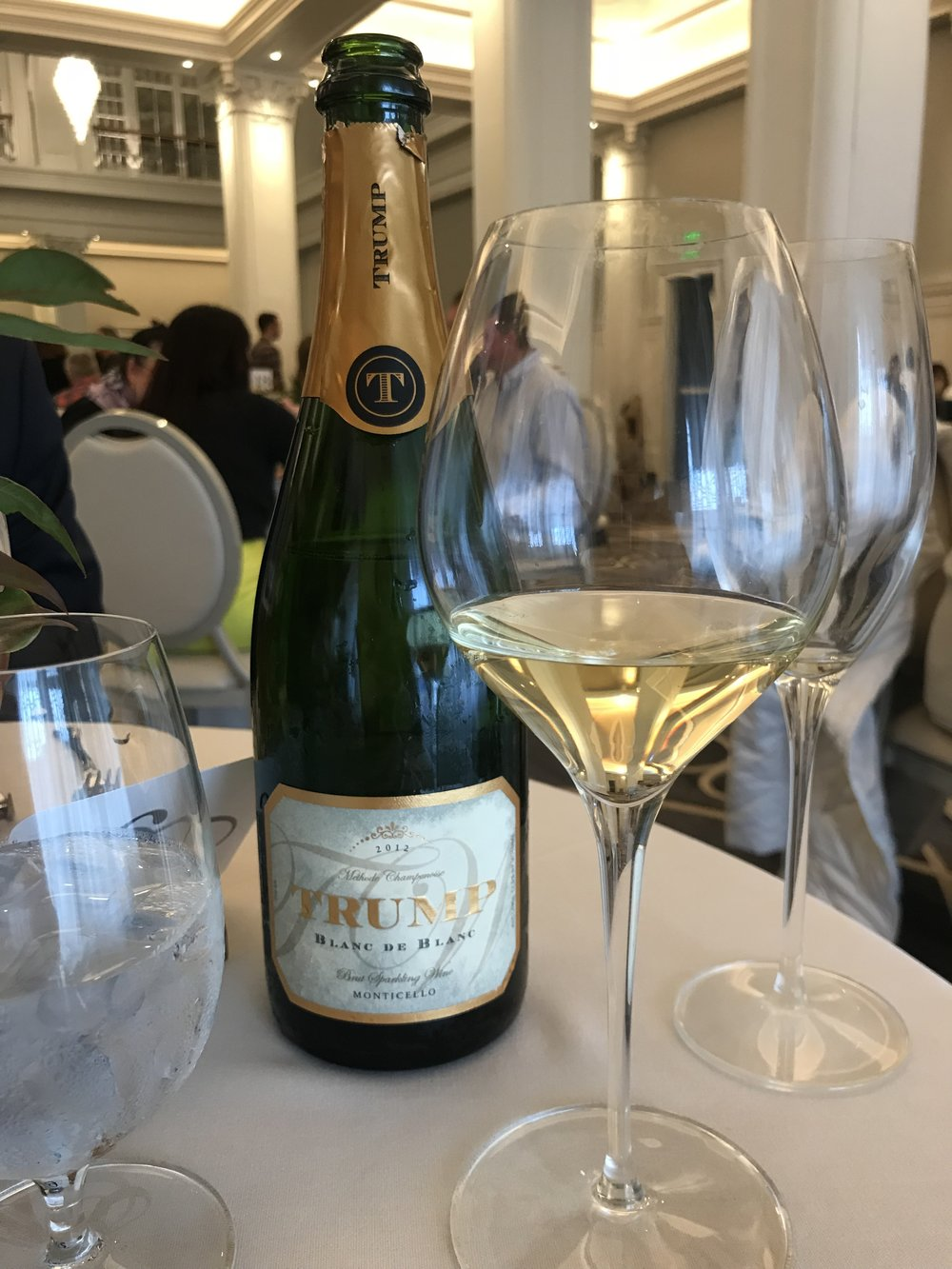 2012 Trump Winery Blanc de Blanc -