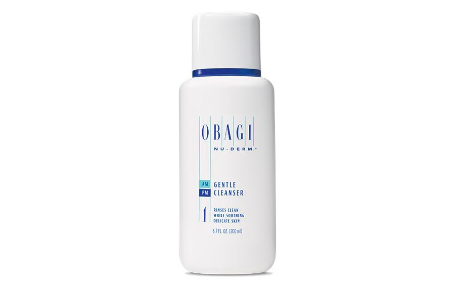 Obagi Nu-Derm Gentle Cleanser - Be gentle when cleansing your face!