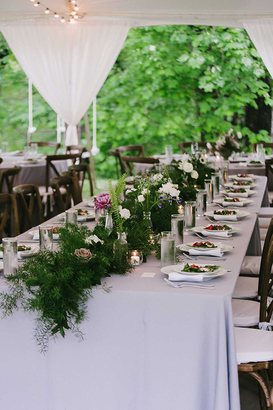 Wedding Reception Table Flowers