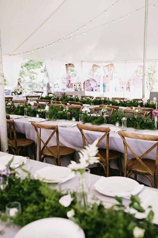 Asheville Wedding Floral Decor