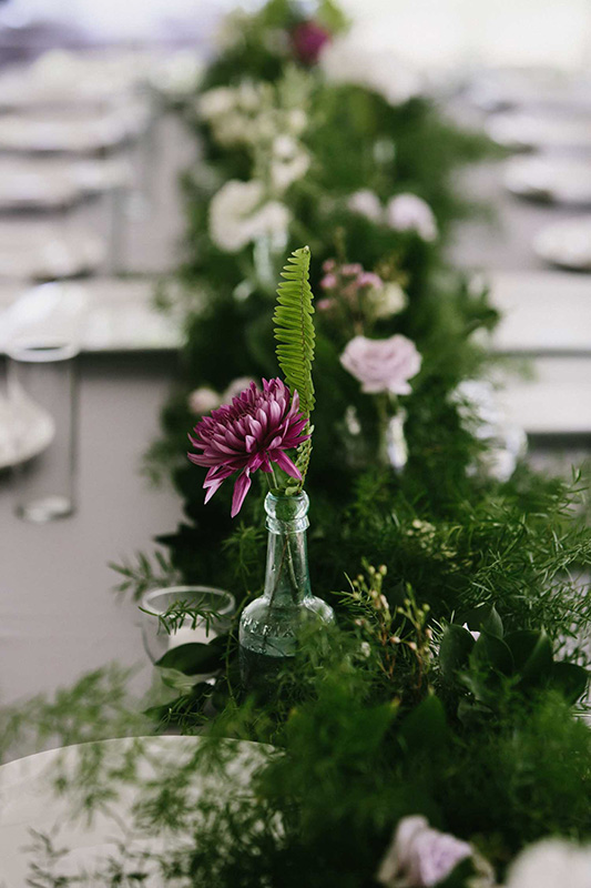 Reception Centerpieces Organic Fresh