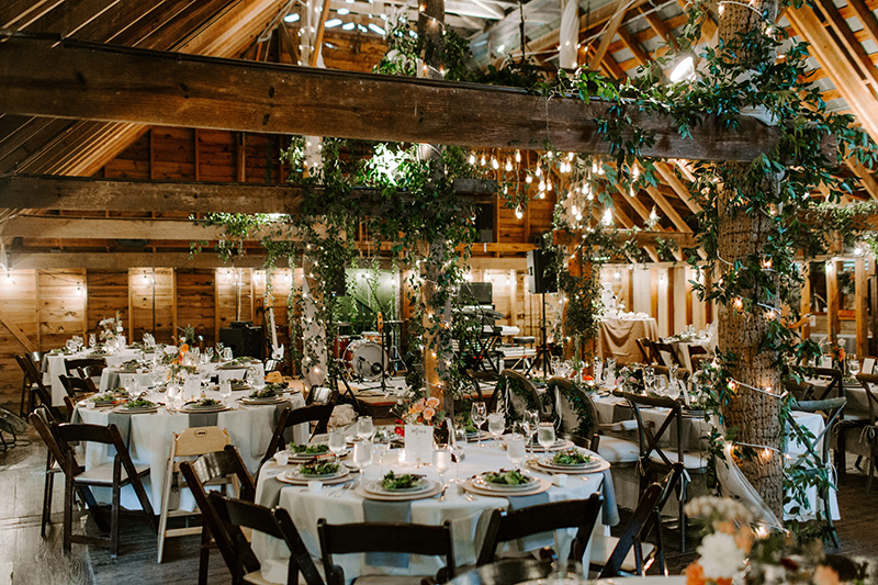 Wedding Reception Floral Design