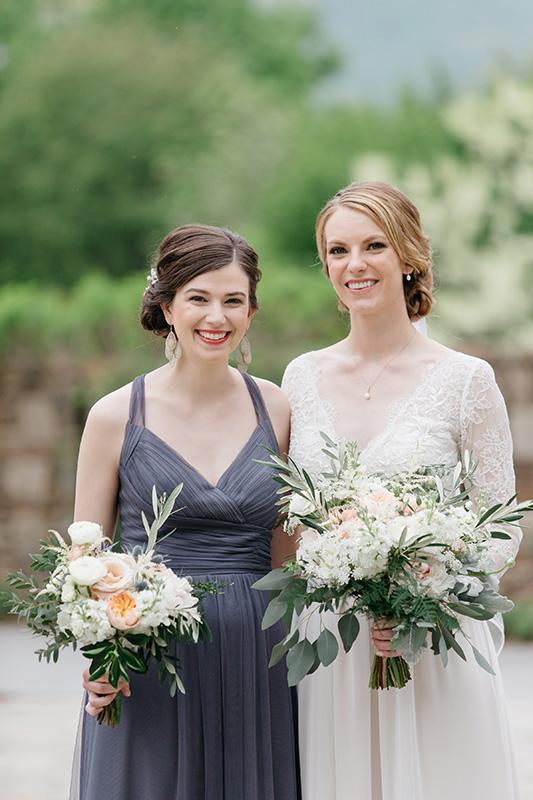 Maid of Honor Wedding Flowers