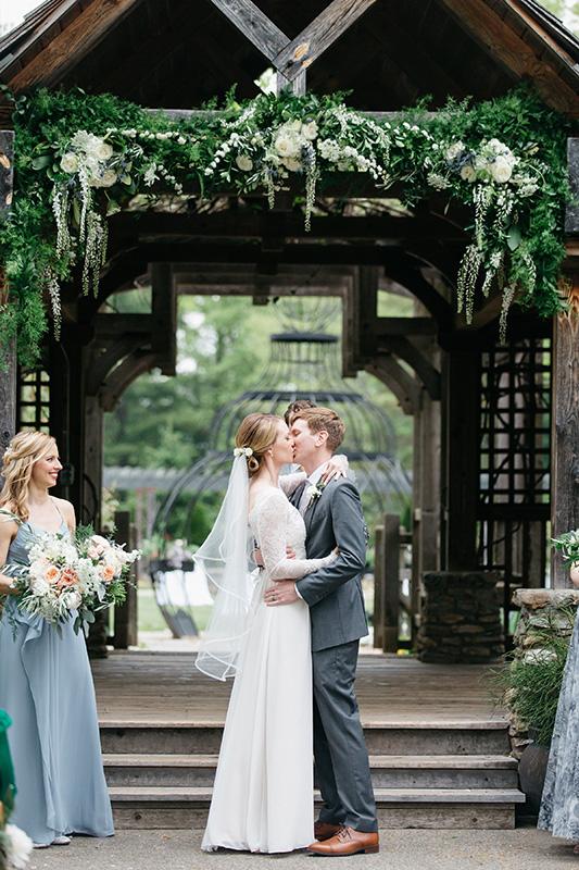 Wedding Arbor Floral Decor