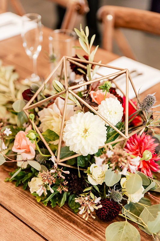Wedding reception Floral Decor