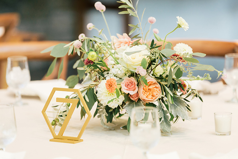 Wedding Reception Floral Decor
