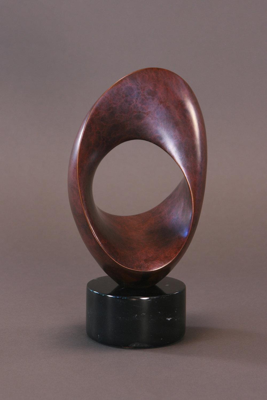 THISBE - 'Female figure in Greek mythology', Bronze, Ruby Patina