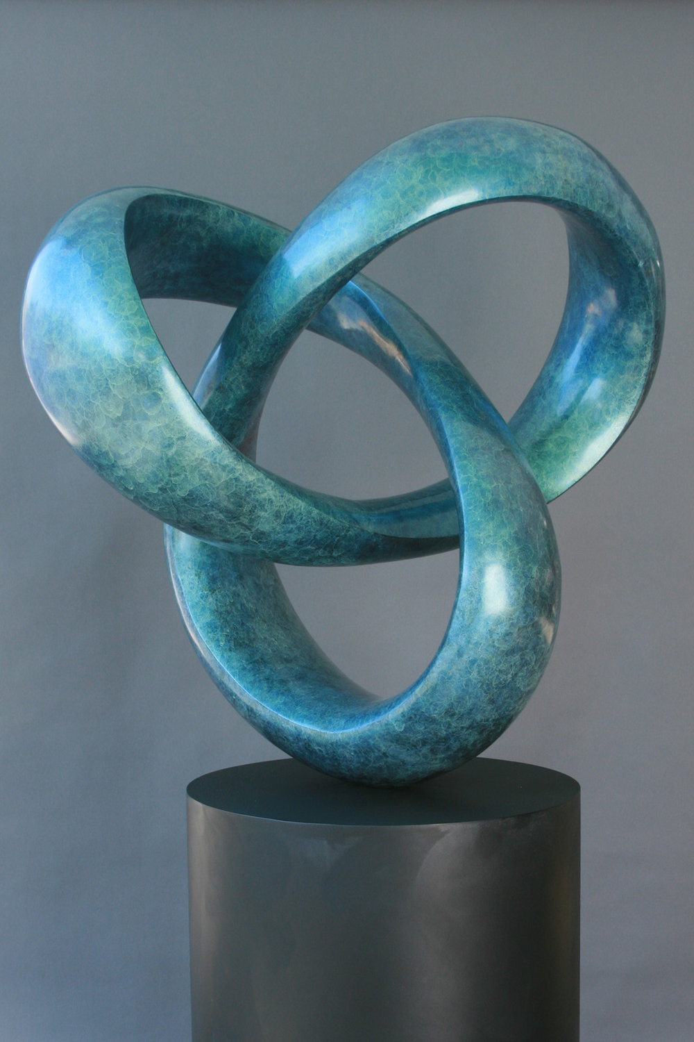 "CATENA X - ""Chain of Connected Ideas', Bronze Sculpture"
