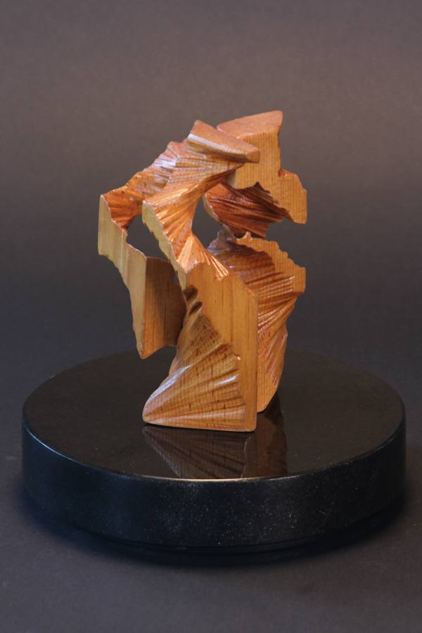 DUEDASETTE - 'Two by Two by Seven', Pine Wood Sculpture