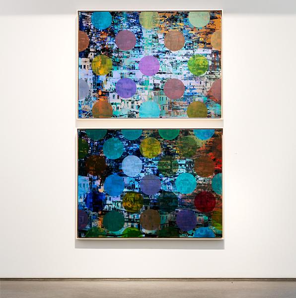 Pistes et Points, Installation, Newzones Gallery, 2016