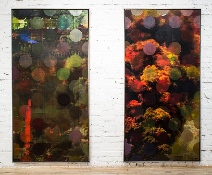 Film Scores: Installation, Galerie Youn, 2015
