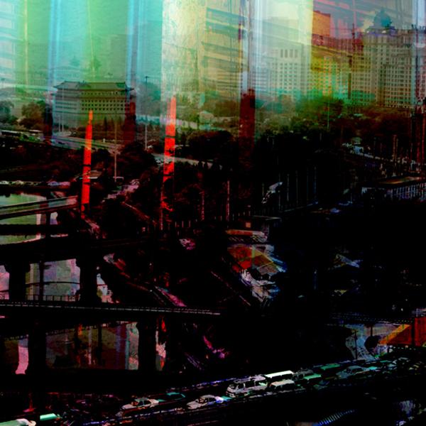 "Beijing View 1, chromogenic print, 42' x 42"", 2010"