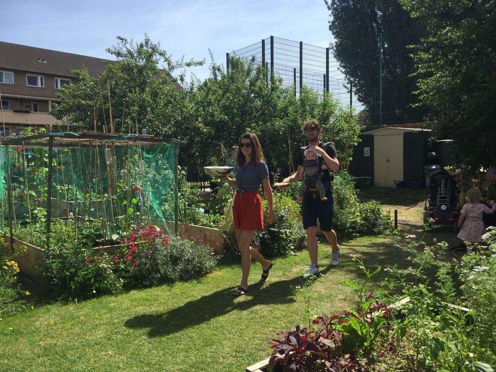 © Approach community garden