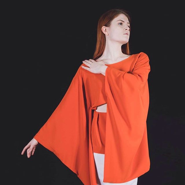 @idreamofshapes collection 'stay'. photographed by @s183_markhunt model @aja.jane. you can check out the full collection at idreamofshapes.com and available @farrahfloydbrussels @studio183 @bikiniberlin  #kimono #orange #independentdesigner #conceptstore #berlindesigner #brusselsfashion #berlinfashion #fashion #designer #style #handcrafted #shop #shooting #model #elegant #fashionshooting #shape #nowastedesign #sustainablefashion #instagood #instadaily #idreamofshapes