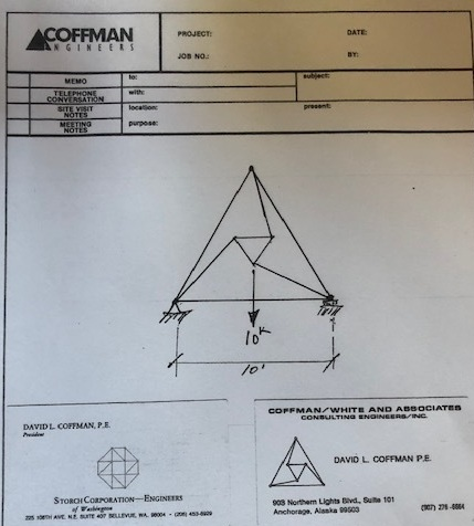 The Triangle  was Dave Coffman's solution to a tricky problem and the inspiration behind our logo.  Read more