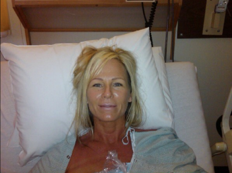Shannon Sayers After Double Mastectomy