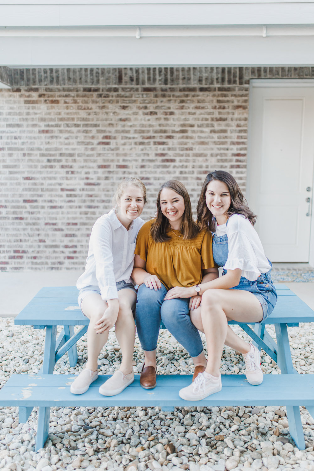 """About Us - Welcome, friends! We are Elizabeth, Alison, and Elaine—three college women looking to dream big and pursue God's calling in our lives.In All Things began as a passing comment between friends about a podcast to reach the current generation of college women, and through prayer, a multitude of discussions, and endless laughs, we decided to give the podcast the """"good old college try"""" and be bold in this idea we feel God has placed on our hearts!"""