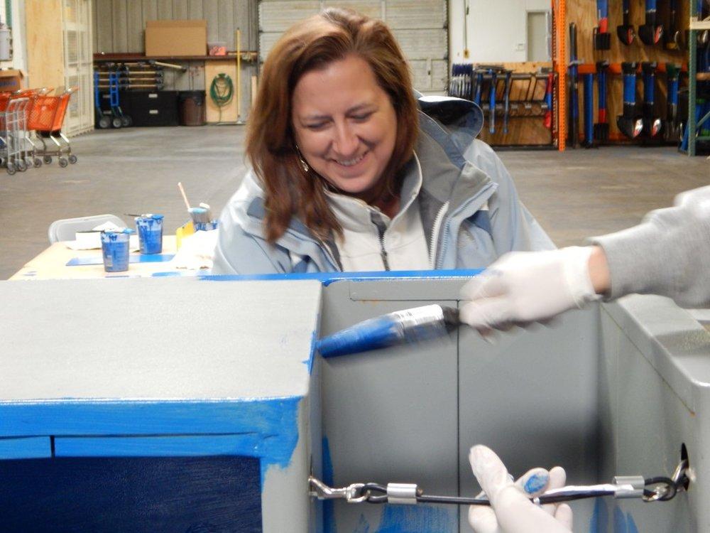 Volunteering at Houston ToolBank