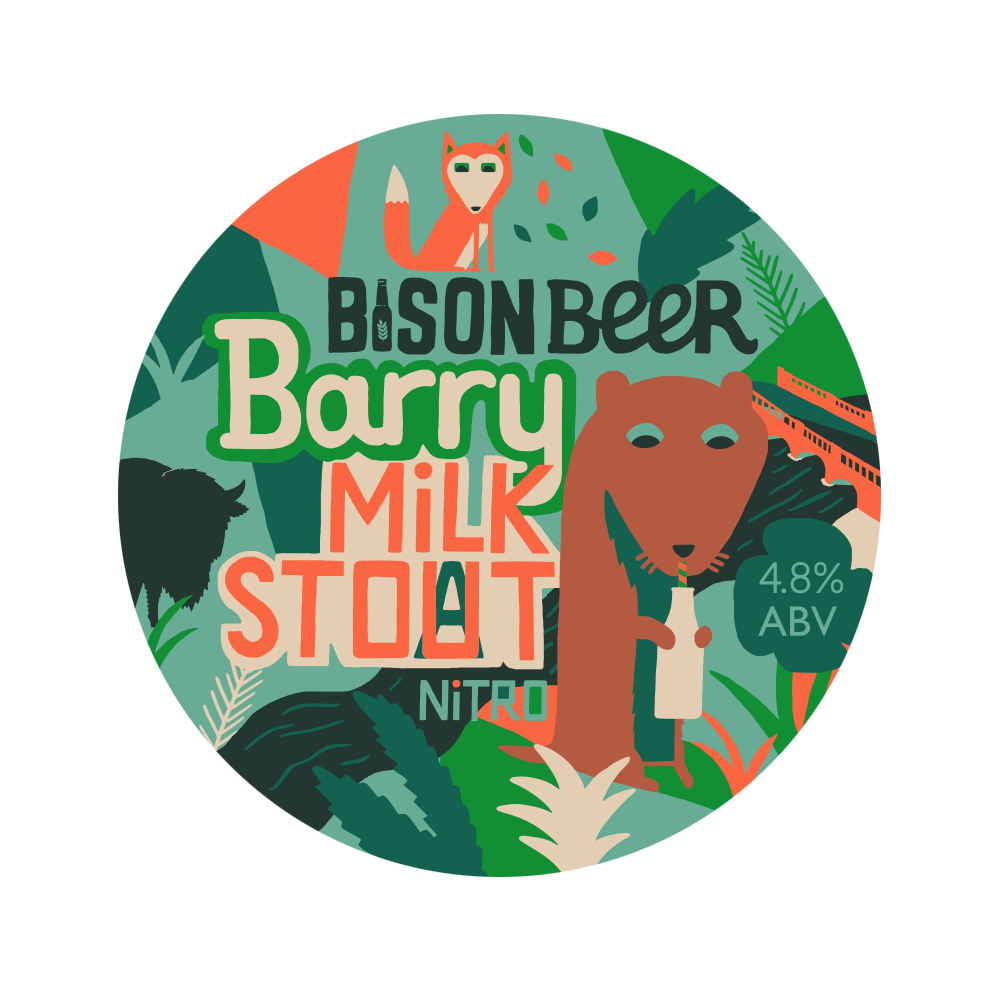 BARRY MILK STOUT - Creamy Nitro Stout // 4.8%- SEASONAL -