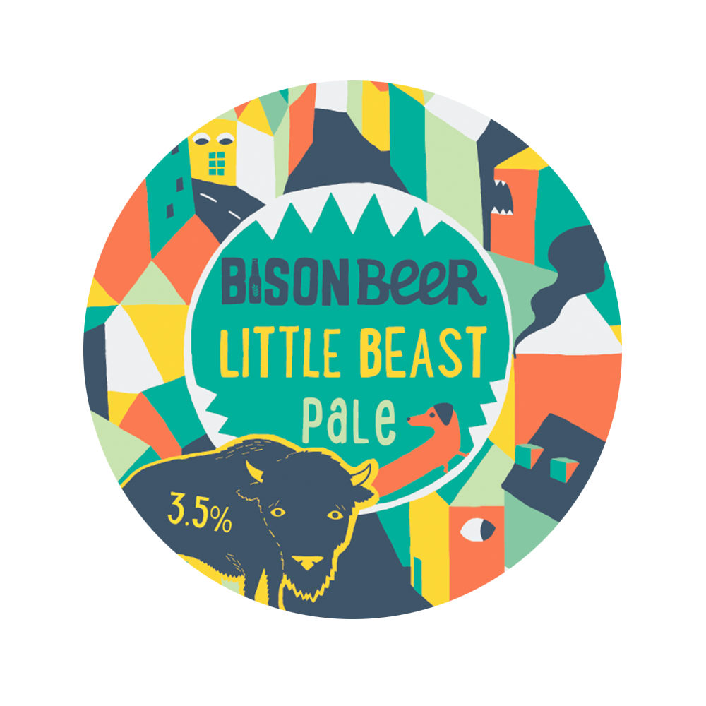 LITTLE BEAST PALE - Tropical Session Pale // 3.5%- SEASONAL -