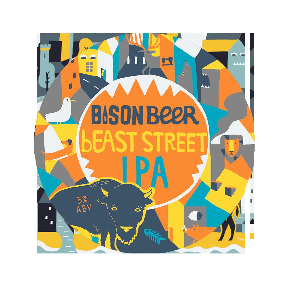 bEAST STREET IPA - Hop Heavy Orangey IPA // 5%- IN HIBERNATION -