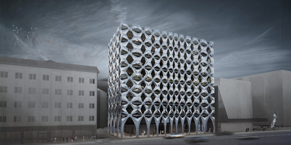 NEW ADMINISTRATIVE BUILDING IN BOLZANO