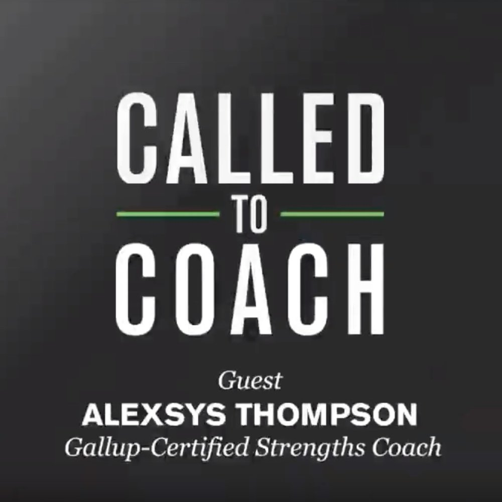 Gallup's Called to Coach    Called to Coach is a resource for those who want to help others discover and use their strengths.   Watch the Interview