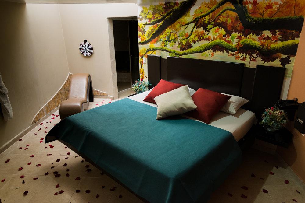 Suite spa otoño - En un entorno de colores cálidos que generan un ambiente acogedor para cualquier ocasión.Más detalles ➝