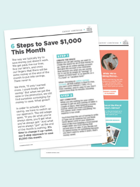 6 Steps to save $1000 in a month - You don't have to cut out that morning latte or kick your lotto ticket habit—we get it, you could be the winner.This really comes down to really figuring out where your money is going. (Because then, you can figure out how to keep it.)