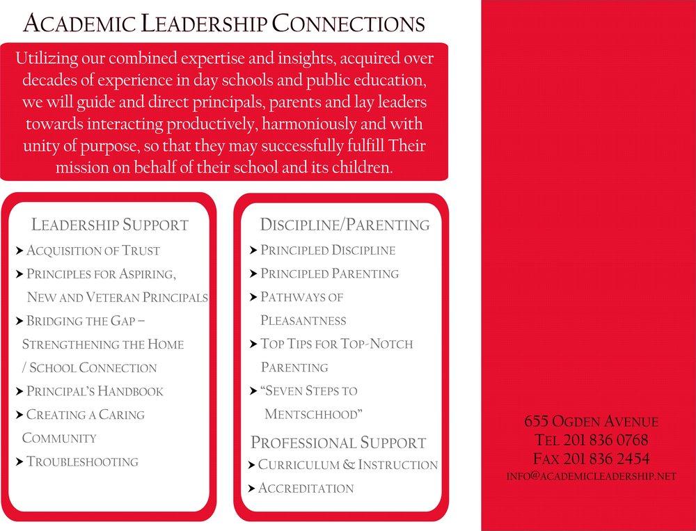 Academic Leadership - Back