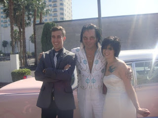 Legit with Elvis and everything. This is the only wedding I've attended where I have cried.