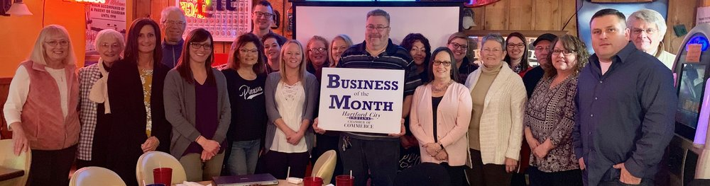 Mel Hanthorn of LaPalma holds the Business of the Month in January!