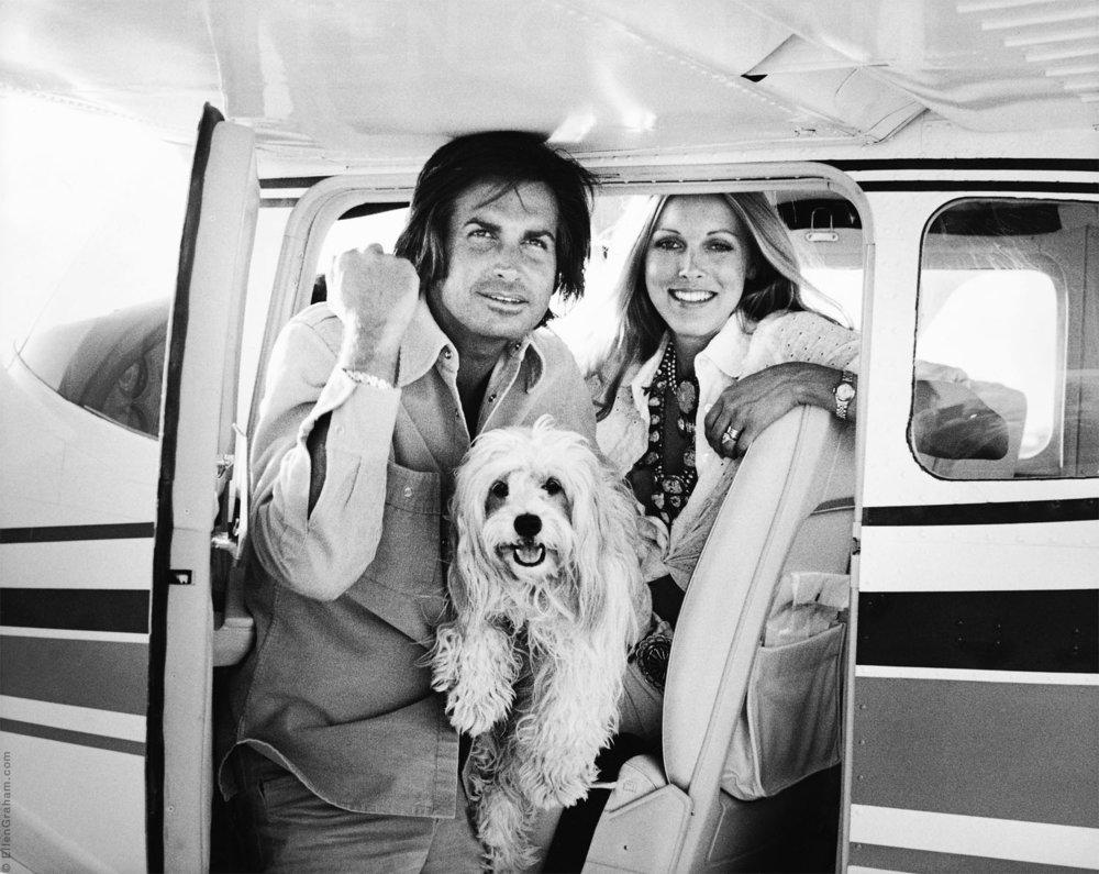 George Hamilton, Alana Hamilton, Los Angeles, CA, 1973