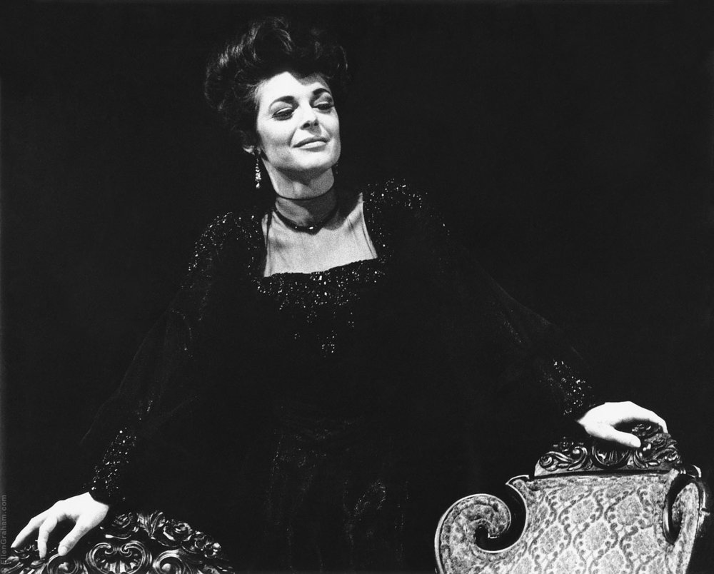 """Anne Bancroft, """"The Little Foxes"""", New York, NY, 1967"""