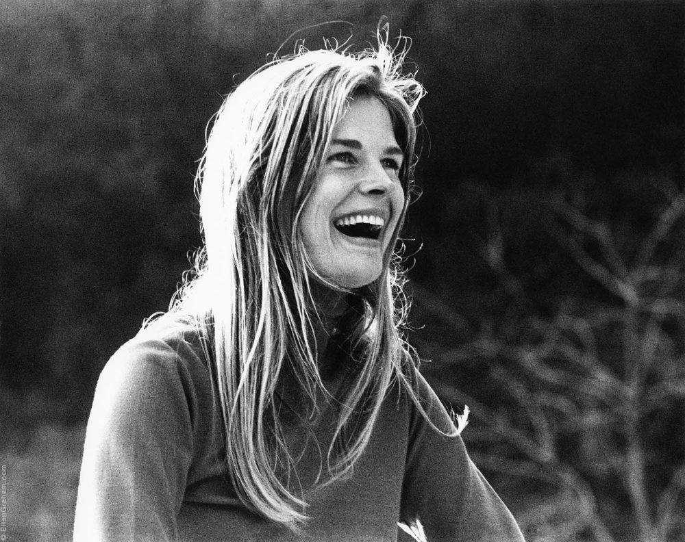 Candice Bergen, Beverly Hills, CA, 1971