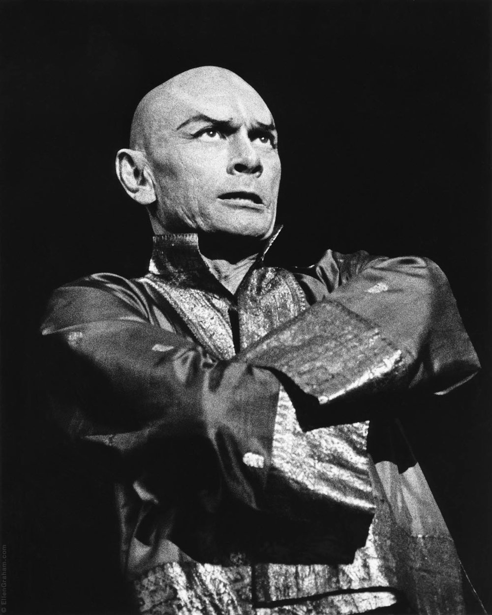 Yul Brynner, The King and I, New York, NY, 1978