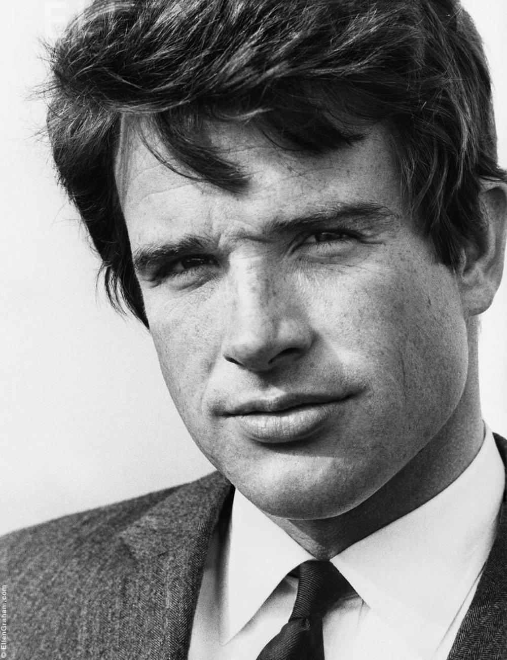 Warren Beatty, Beverly Hills, CA, 1967