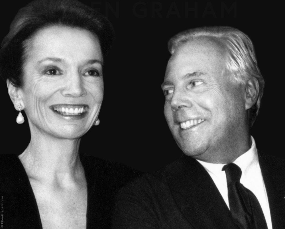 Giorgio Armani, Lee Radziwill, New York, NY, 1990