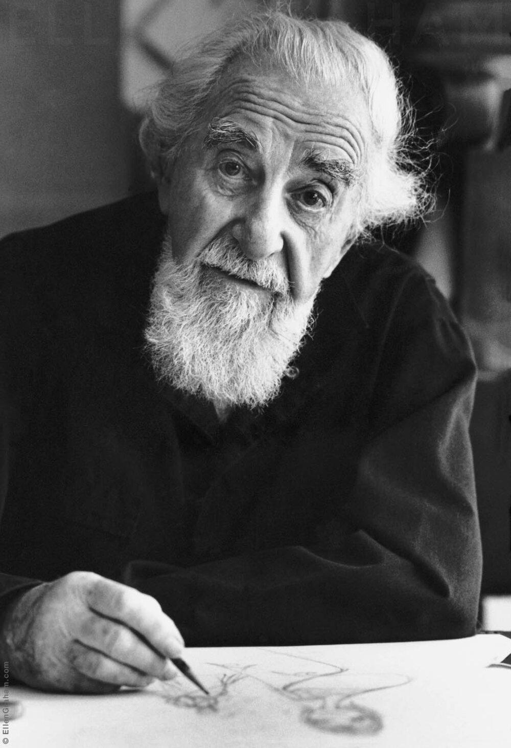 Al Hirschfeld, New York, NY, 1999