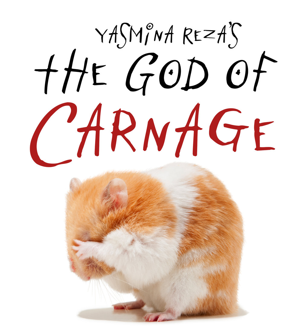 The God of Carnage - by Yasmina RezaFeb 1, 2019 - Feb 17, 2019Winner of the 2009 Tony Award for Best Play, God of Carnage relates an evening in the lives of two couples, residents of a tony Brooklyn neighborhood, who meet to discuss a playground incident. Alan and Annette's son hit Michael and Veronica's son in the face with a stick, resulting in two broken teeth. The four of them agree to discuss the incident civilly, but, as the night wears on and drinks are imbibed, the polite veneer breaks down. Alliances are made and broken in this wild comedy of no manners!