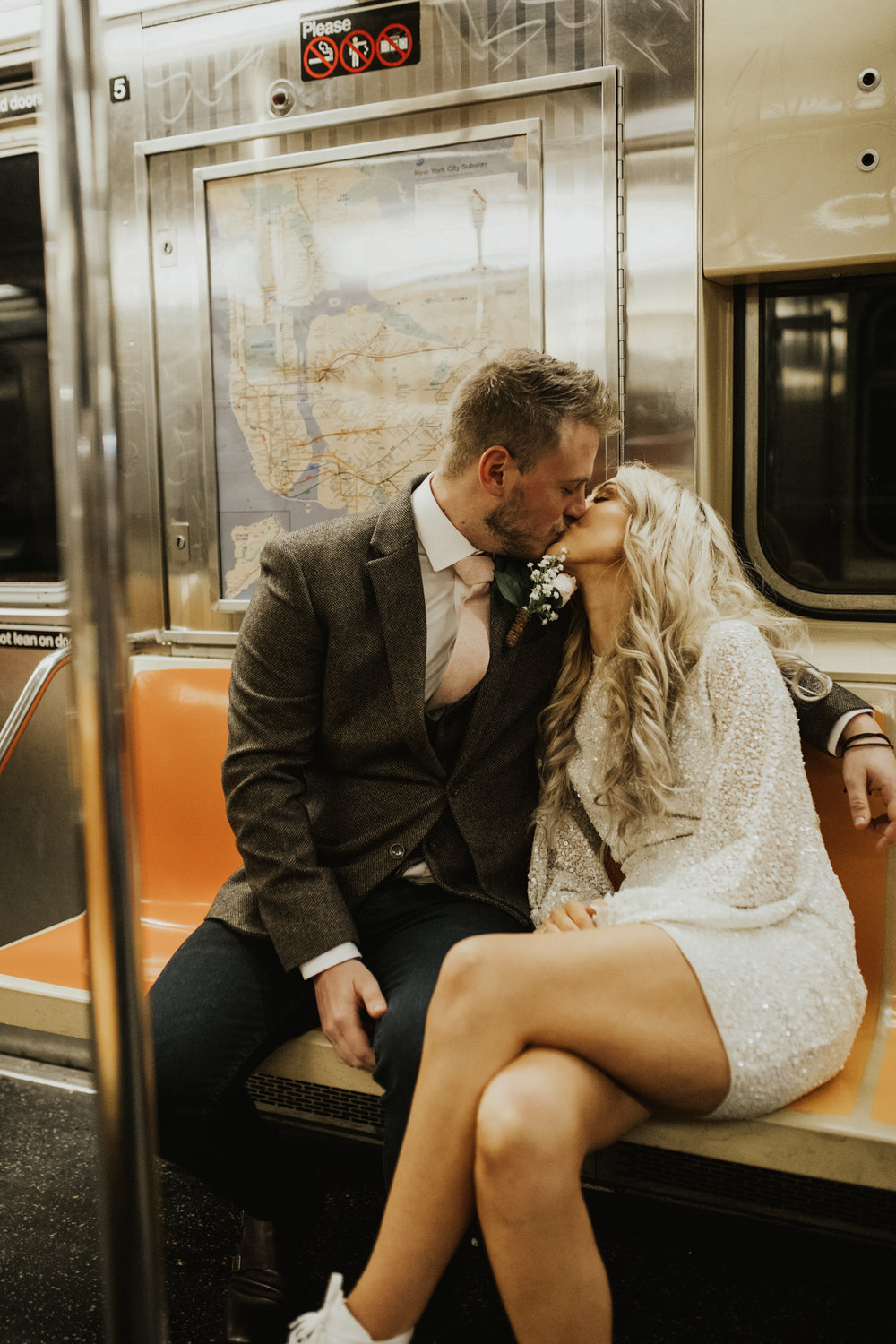 Holly and Dan Brooklyn New York elopement