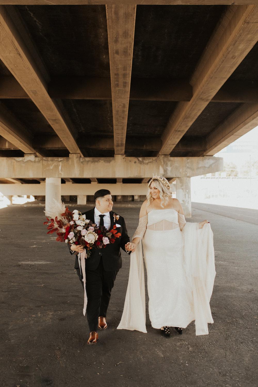LGBTQ Industrial Warehouse Wedding