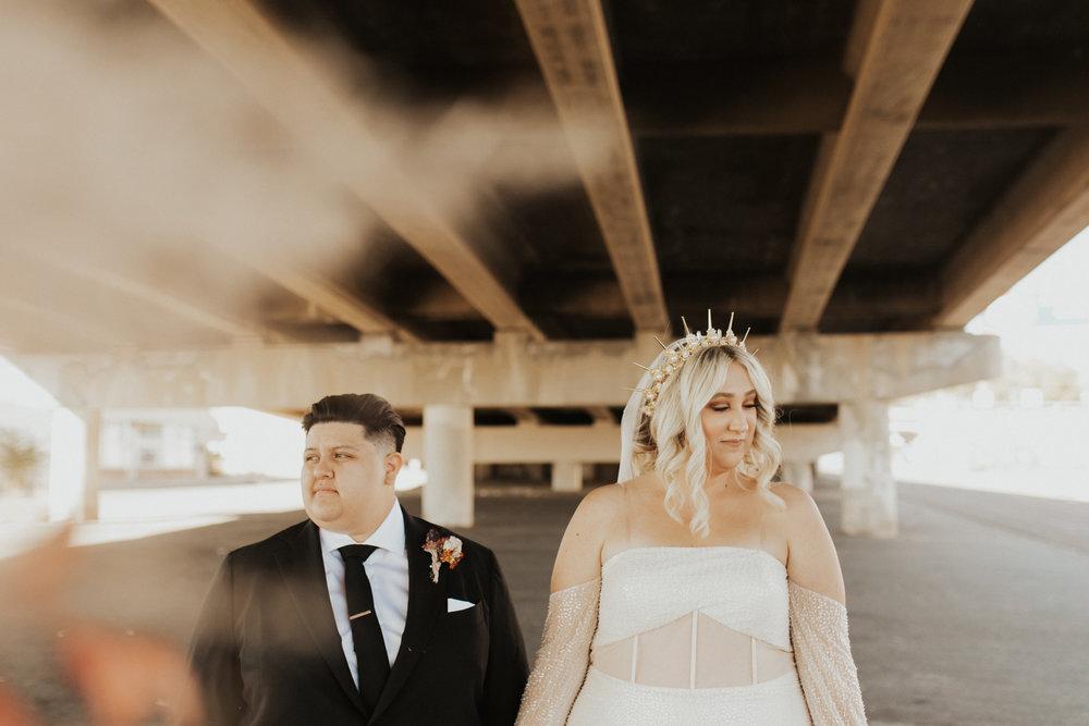 LGBTQ industrial wedding