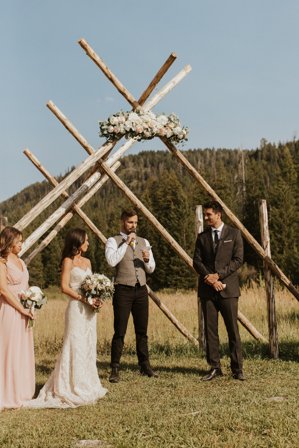 Moose Creek Ranch Idaho Wedding