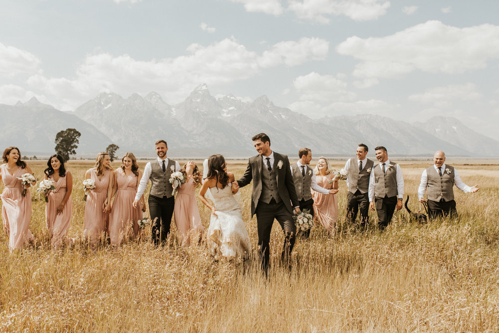 grand Teton National Park Elopement
