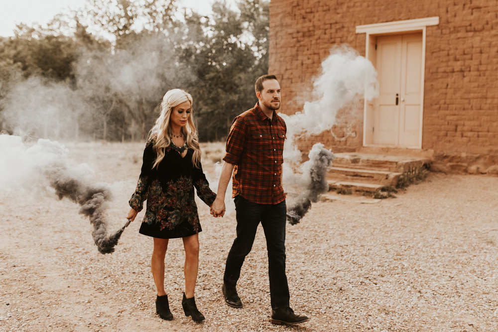 ghost ghost engagement session