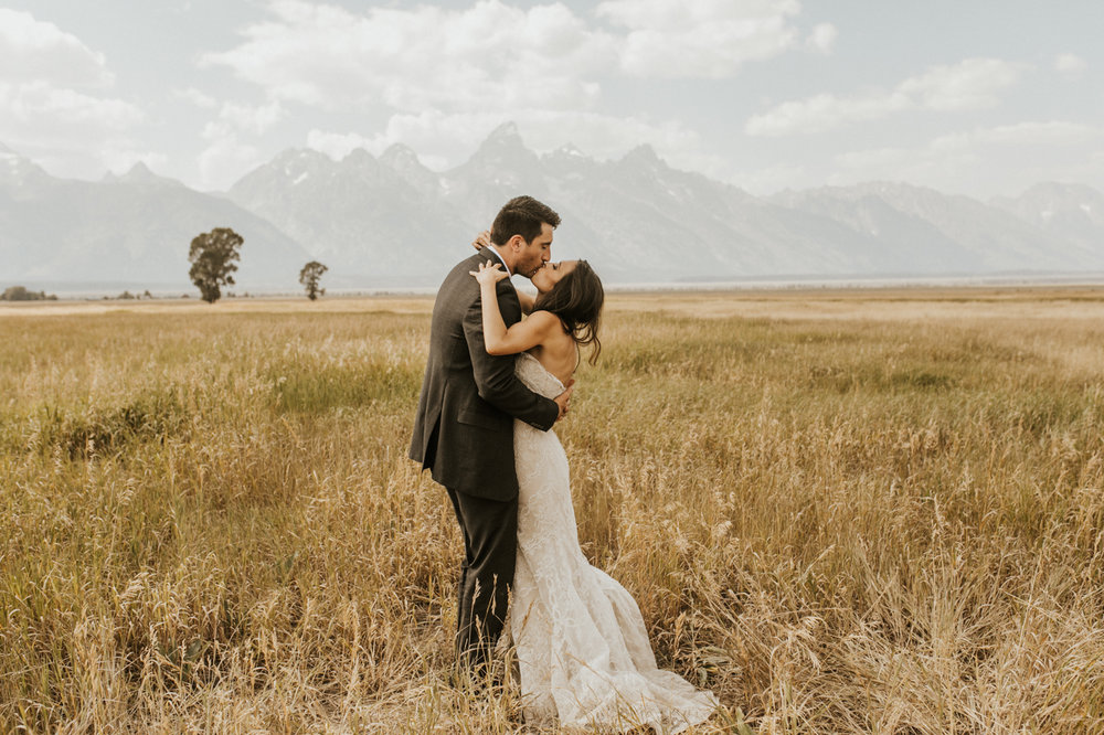 Jackson hole wedding