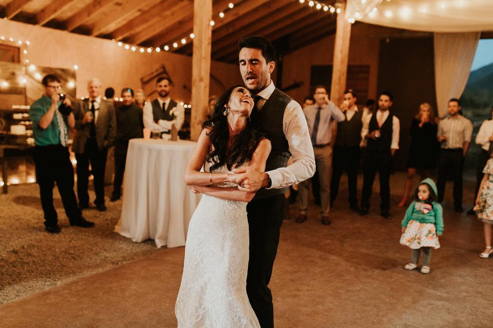 victor idaho rustic wedding photos