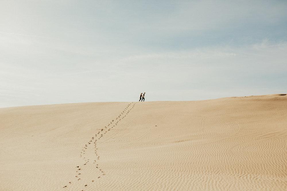 great sand dune national park engagement photoshoot
